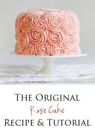 80th Birthday Rose Cake Tutorial