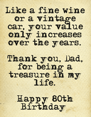 80th Birthday Wishes - Perfect Messages & Quotes to Wish a ...