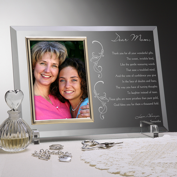 80th Birthday Personalized Frame With Poem For Mom
