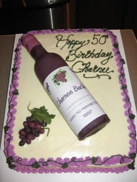 Drink Shaped Birthday Cakes