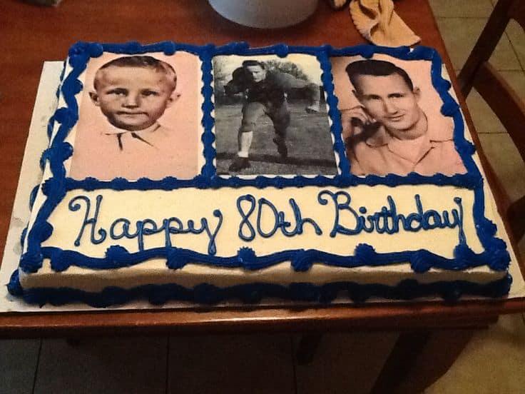 80th Birthday Cakes 25 Fabulous Birthday Cake Ideas For Men Women