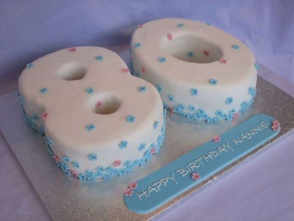 80th Birthday Cakes - 80th Birthday Ideas