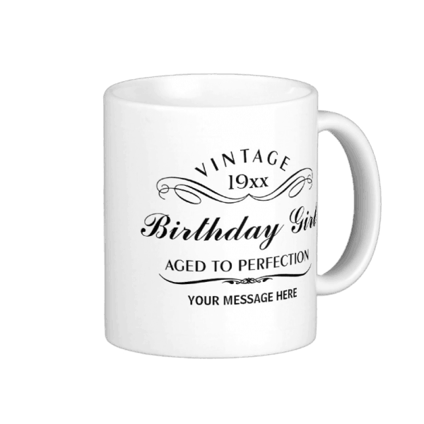 80th Birthday Coffee Mug for Women