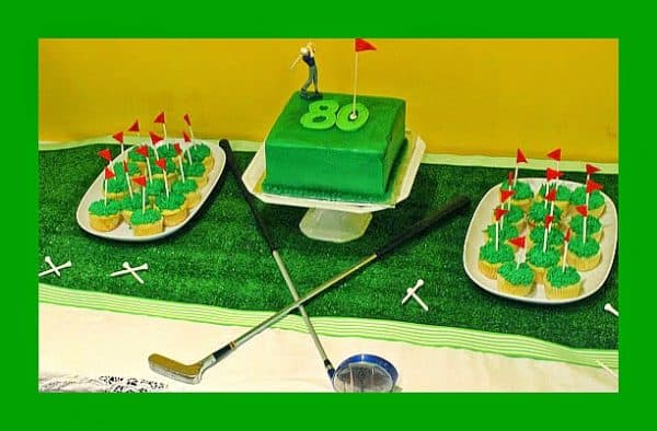 80th Birthday Golf Party Ideas