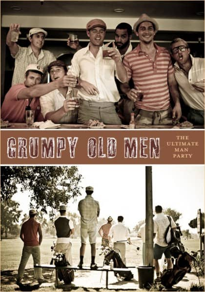 Grumpy Old Men Birthday Party Theme