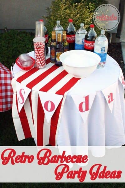 Retro BBQ Birthday Party Ideas