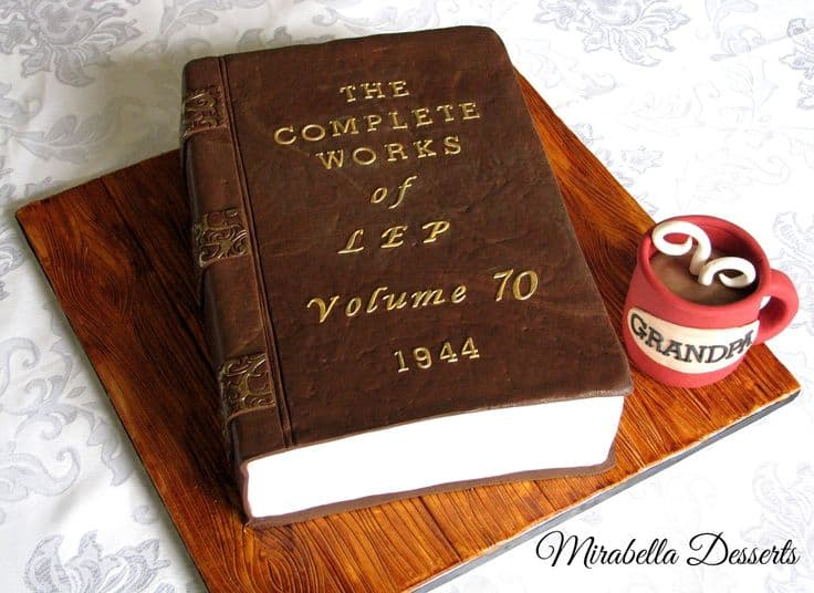 Birthday Cake for the Book Lover