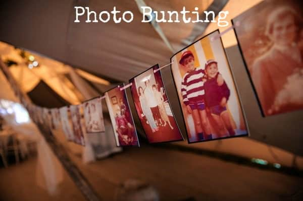 Photo Bunting Tutorial