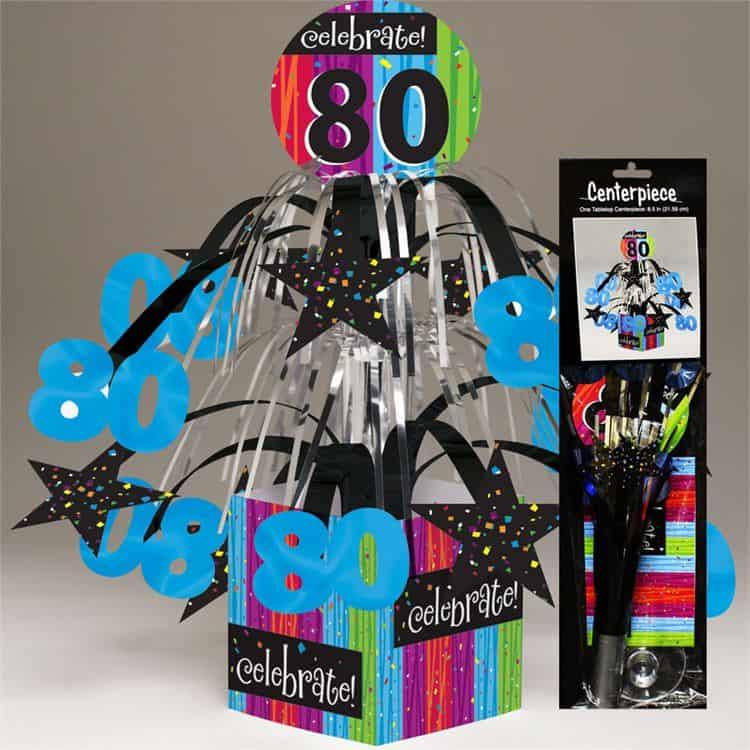80th Birthday Decorations Ideas