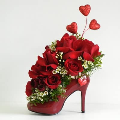 High Heel Table Decoration