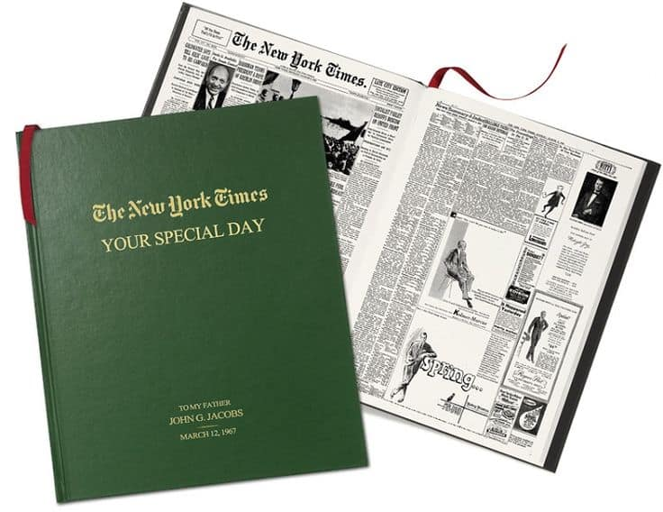 Dad's Special Birthday Personalized Book