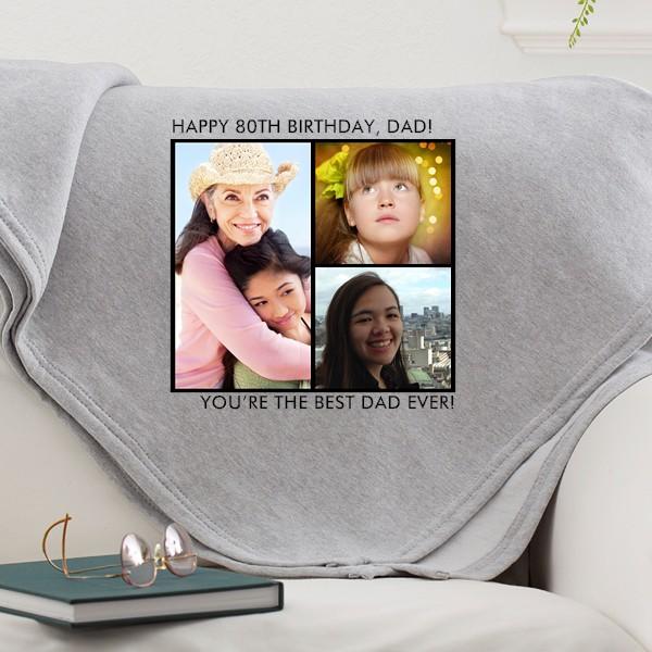 Sweatshirt Blanket with Photos