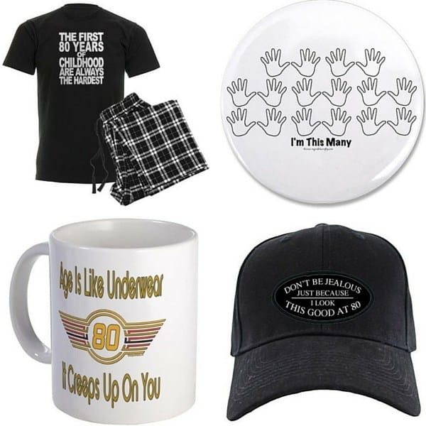 80th Birthday Gag Gifts For Men