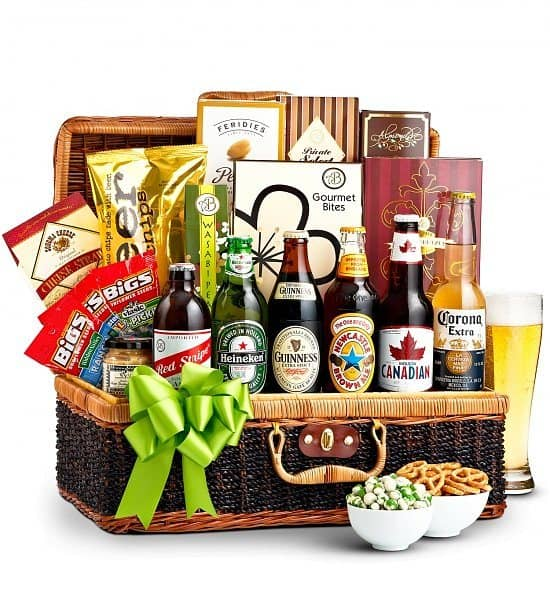 50th Birthday Gift Basket For Men: 80th Birthday Gifts For Men