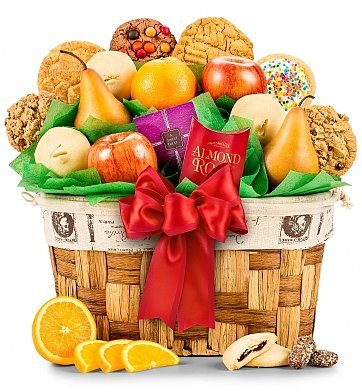 80th Birthday Gift Baskets for Mom