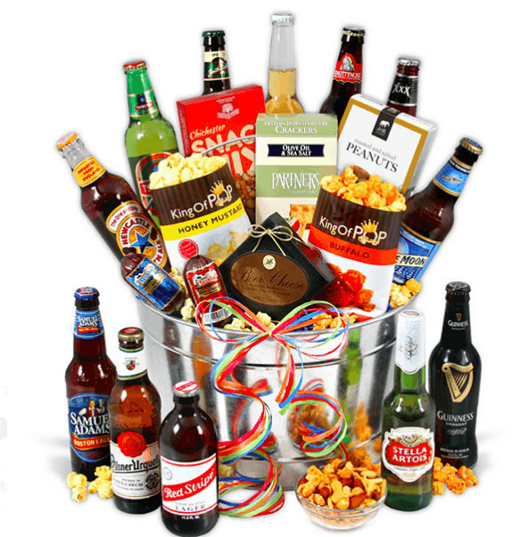 Beer Gift Basket is a wonderful surprise for any man who enjoys beer!