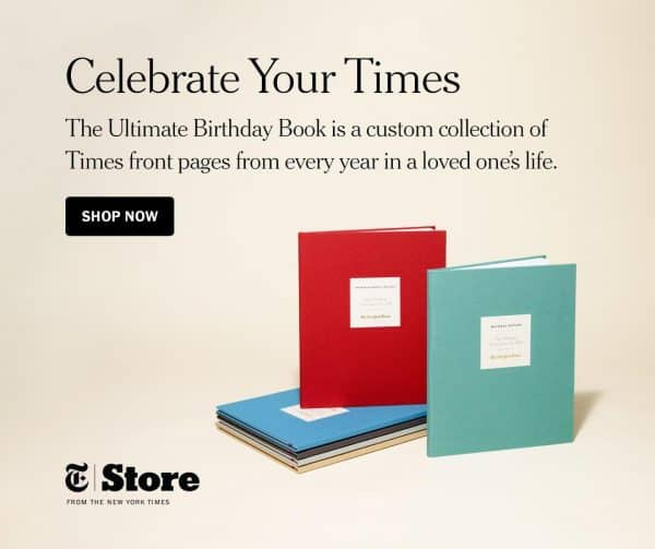 Looking for a unique 80th birthday gift for your Dad?  Impress your father with The New York Times Ultimate Birthday Book!  Personalized book includes every birthday front page from all 80 years...a gift Dad will enjoy for years to come!