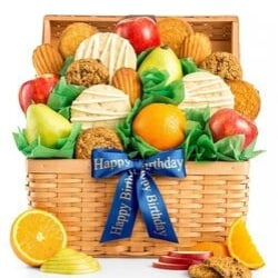 Fresh Fruit and Cookies Gift Basket