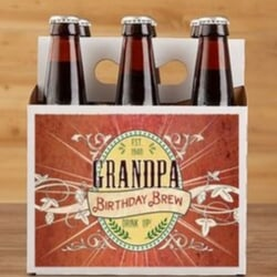 Personalized Beer Bottle Carrier or Labels