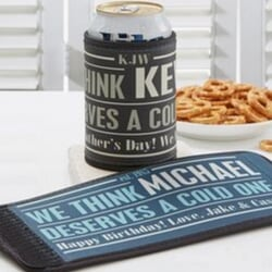 Personalized Can & Bottle Wrap - Under $10