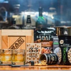 Personalized Whiskey Man Crate