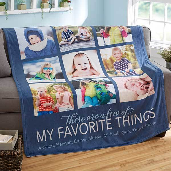 Gifts for 80 Year Old Birthday - Looking for unique gifts for a man or woman who is turning 80? Delight them with a beautiful personalized photo blanket! Click to order or to see 50+ awesome 80th birthday gift ideas.