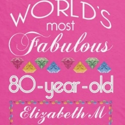 Personalized World's Most Fabulous 80 Year Old Blanket