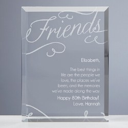 Personalized Best Things in Life Sculpture - Choice of Poems