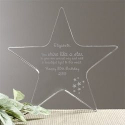 You Shine Like a Star Personalized Keepsake
