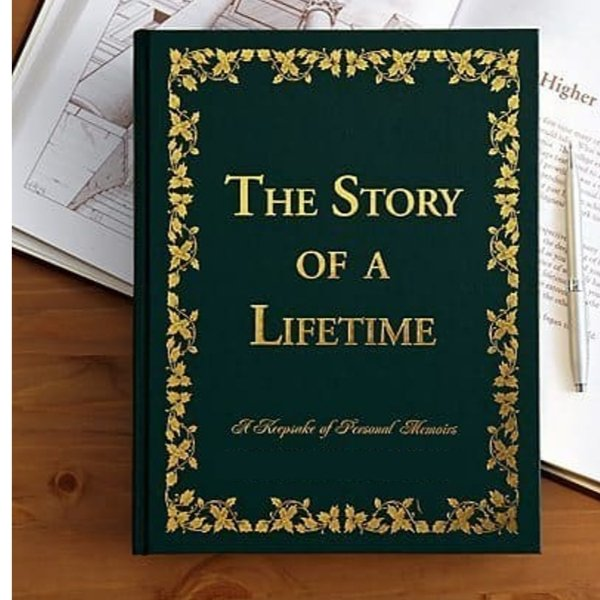 Unique birthday gift for 80 year old - Delight your favorite senior with this striking memory keepsake journal! Elegant book features hundreds of questions designed to provoke memories, beliefs and wisdom gained from their life of experiences.