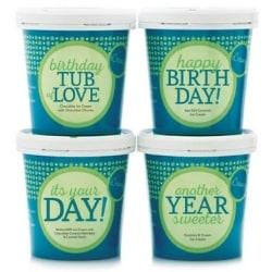 Birthday Ice Cream 4 Pint Gift Pack