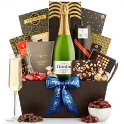 Champagne & Chocolate Gift Basket - Ships Free