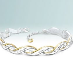 Family of Love Personalized Diamond Bracelet