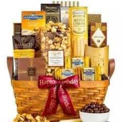 Gourmet Chocolate & Sweets Gift Basket - Free Shipping